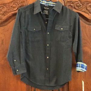Other - Nautica boys shirt size M 10/12 NWT